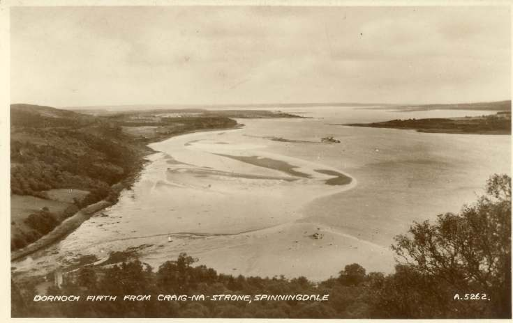 Furness Postcard Collection -   Spinningdale Mill