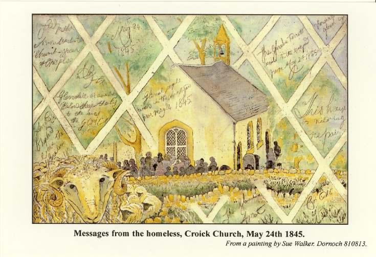 Furness Postcard Collection -   Croich Church