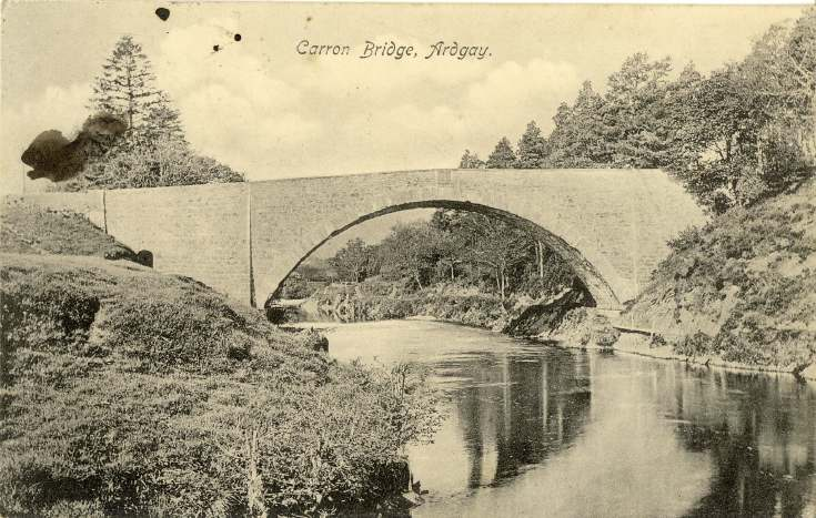 Furness Postcard Collection -   Carron Bridge, Ardgay