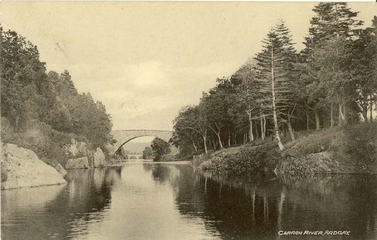 Furness Postcard Collection -   Carron Bridge, Ardgay
