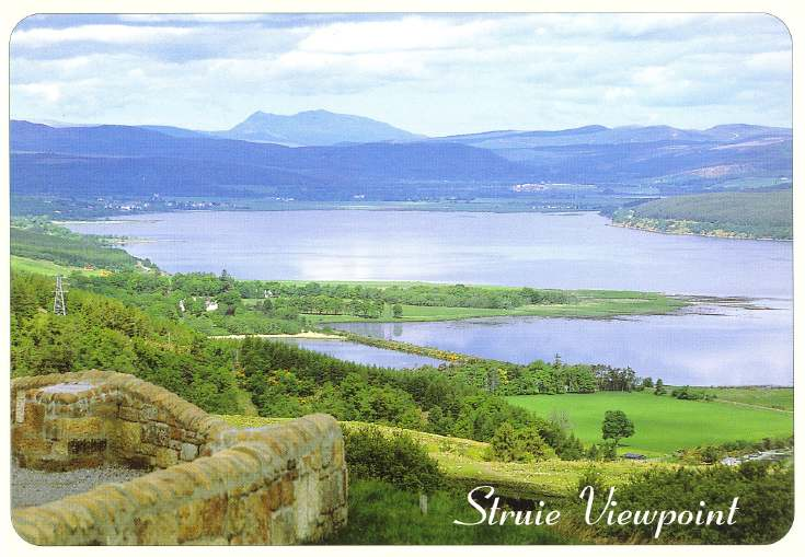 Furness Postcard Collection -   Struie Viewpoint