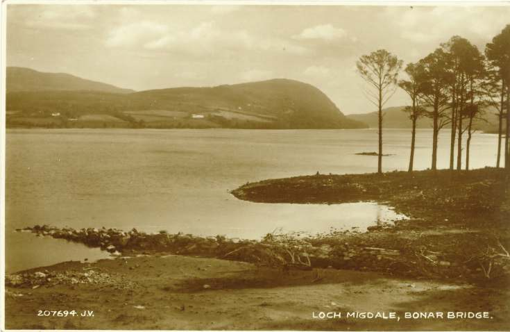 Furness Postcard Collection -  Loch Migdale