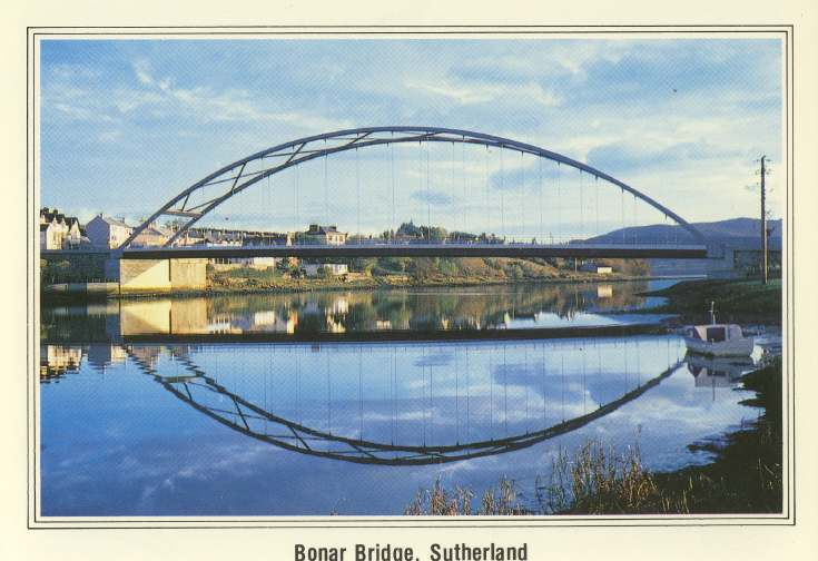 Furness Postcard Collection -   Bonar Bridge, Sutherland