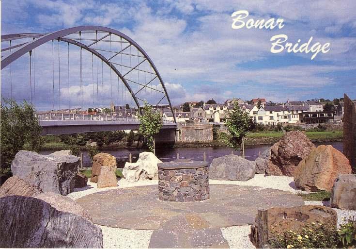 Furness Postcard Collection -   Bonar Bridge