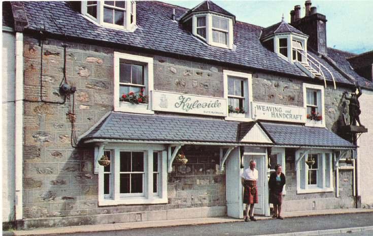 Furness Postcard Collection -   Kyleside Shop Bonar Bridge
