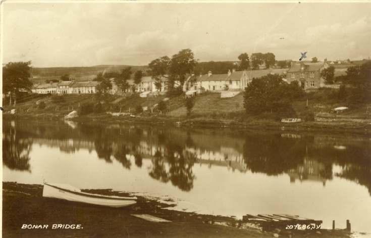 Furness Postcard Collection -   Bonar Bridge east side