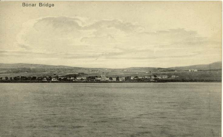Furness Postcard Collection -   Bonar Bridge across the Kyle of Sutherland