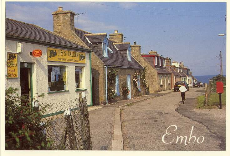 Furness Postcard Collection -   Post Office, Front Street, Embo