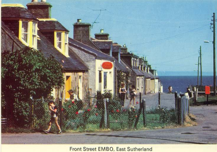 Furness Postcard Collection - Front Street, Embo