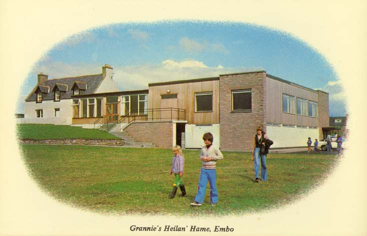 Furness Postcard Collection -  Grannie's Heilan Hame, Embo