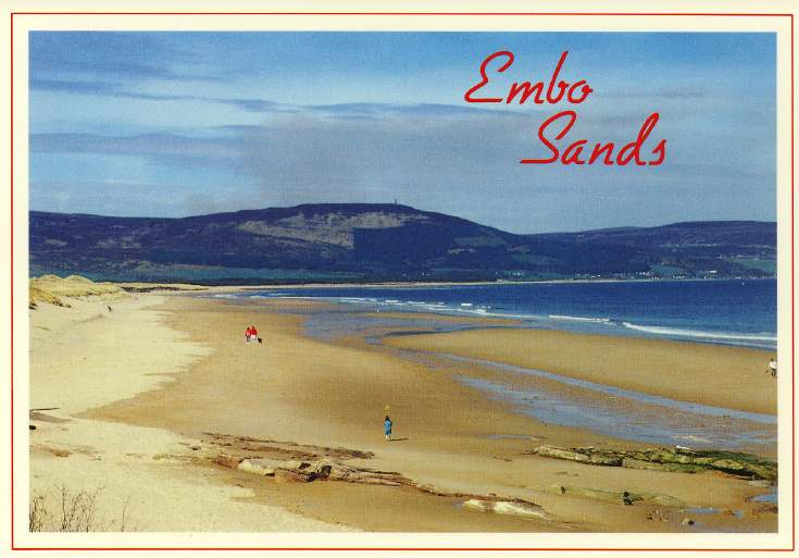 Furness Postcard Collection -  Embo Sands