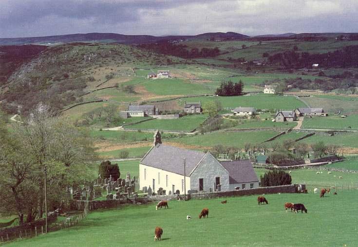 Furness Postcard Collection -  Rogart Church