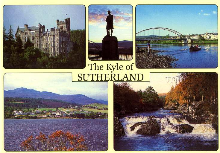 Furness Postcard Collection -  Kyle of Sutherland