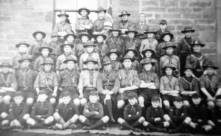 Dornoch scouts and cubs