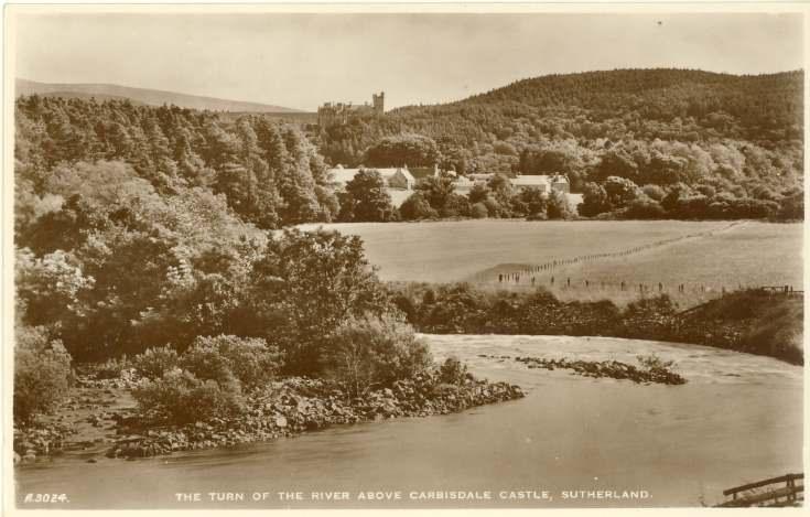 Furness Postcard Collection -  Carbisdale Castle