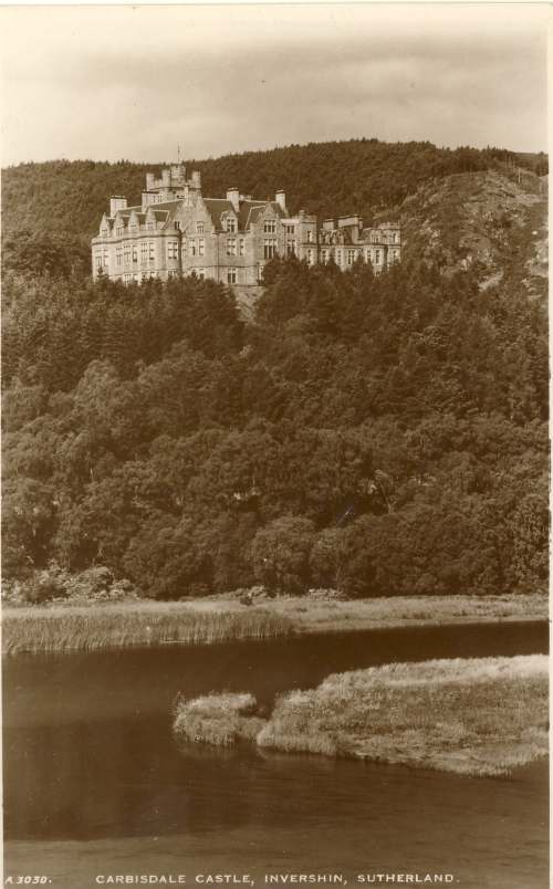 Furness Postcard Collection -  Carbisdale Castle
