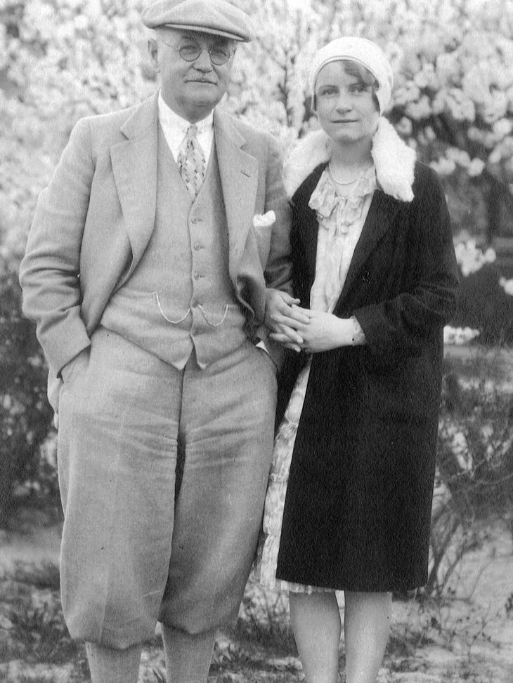 Donald Ross photos - Donald and daughter Lillian Ross