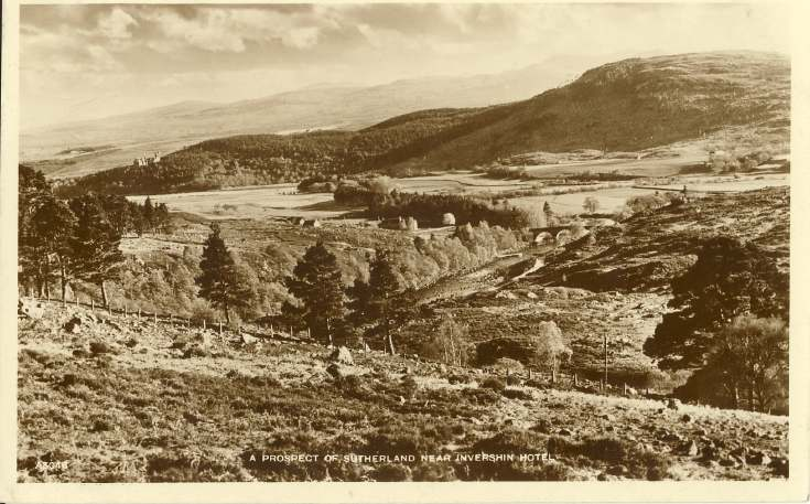 Furness Postcard Collection -  Sutherland near Invershin