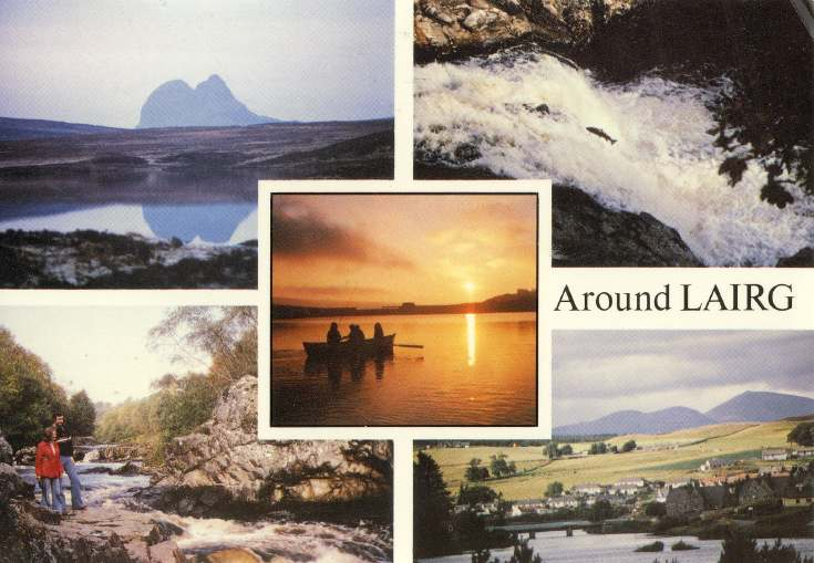 Furness Postcard Collection -  Around Lairg