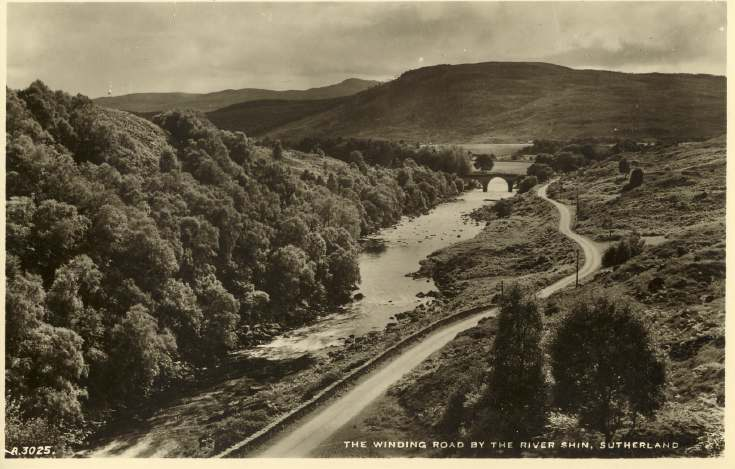 Furness Postcard Collection -  Shin Valley