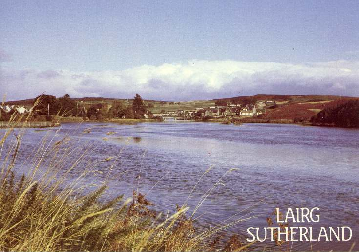 Furness Postcard Collection -  Lairg