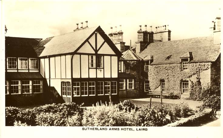 Furness Postcard Collection -  Sutherland Arms Hotel, Lairg