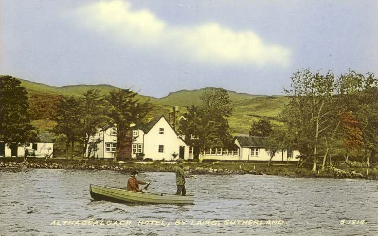 Furness Postcard Collection -  Altnacealgach Hotel by Lairg