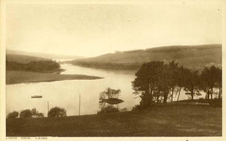 Furness Postcard Collection -  Loch Shin