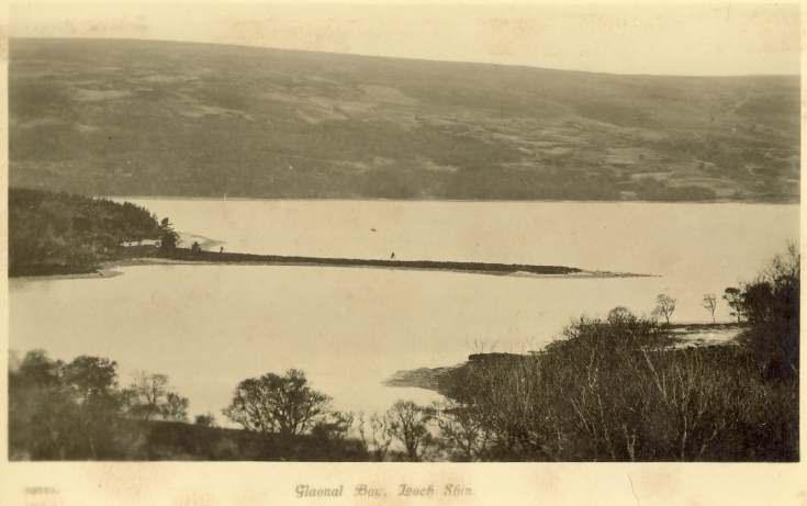 Furness Postcard Collection -  Gloanal Bay Loch Shin