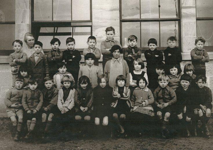 Dornoch Academy Photograph 1922/23