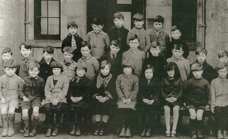 Dornoch Academy Photograph  c1928