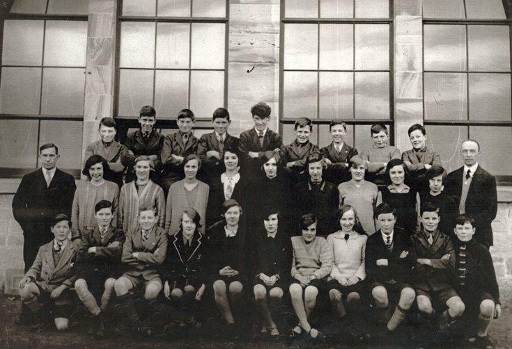 Dornoch Academy Photograph 1927/28
