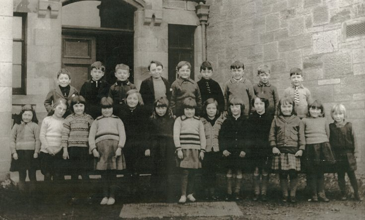 Dornoch Academy School  Photograph 1933