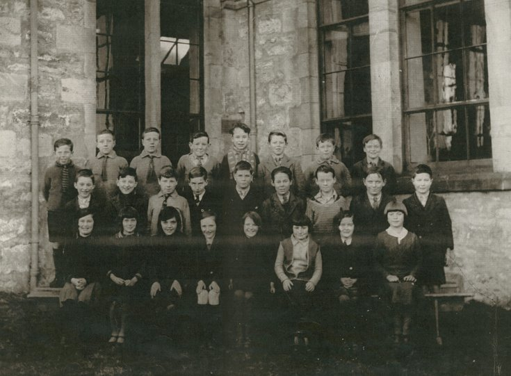Dornoch Academy Photograph 1931