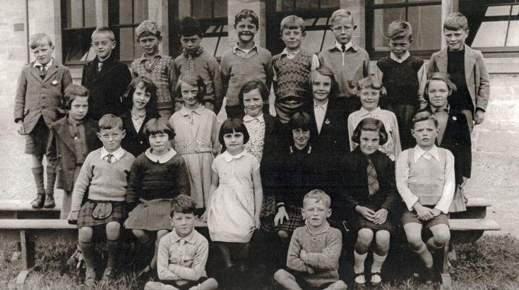 Dornoch Academy Photograph 1935