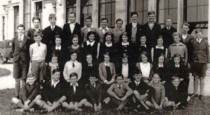Dornoch Academy Photograph c 1935