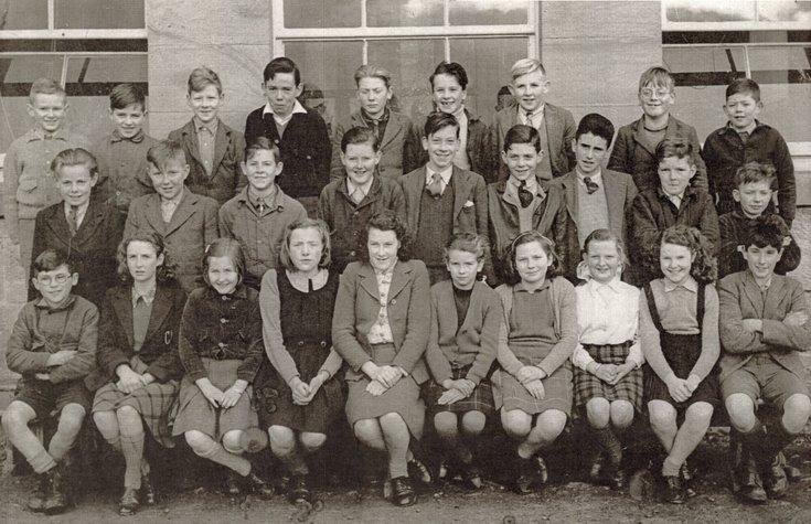 Dornoch Academy Photograph 1947