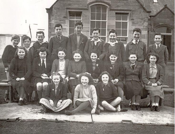 Dornoch Academy Photograph Class 1A 1950