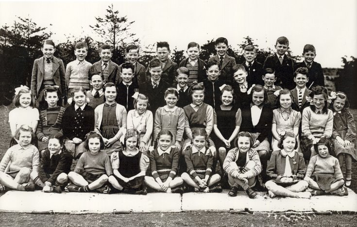 Dornoch Primary Photograph c 1950
