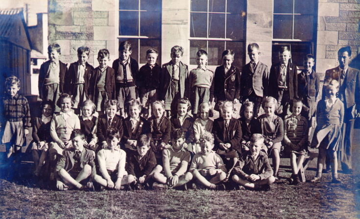 Dornoch Academy Photograph 1954 -55