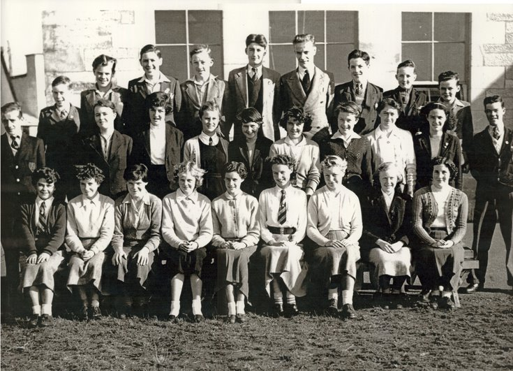 Dornoch Academy Photograph 1955