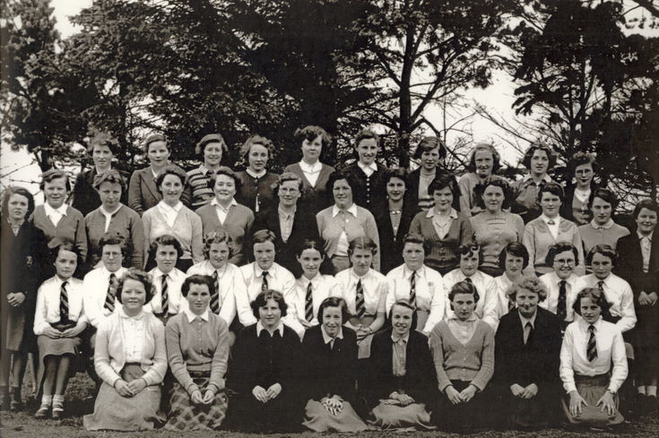 School Group Ross House 1955 - 56