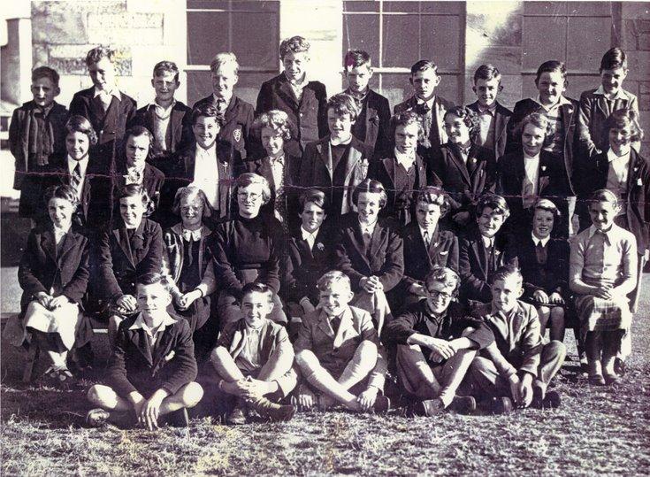 Dornoch Academy Photograph Late 1950's