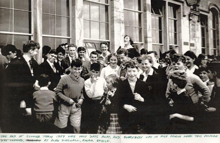Dornoch Academy End of Summer Term 1959