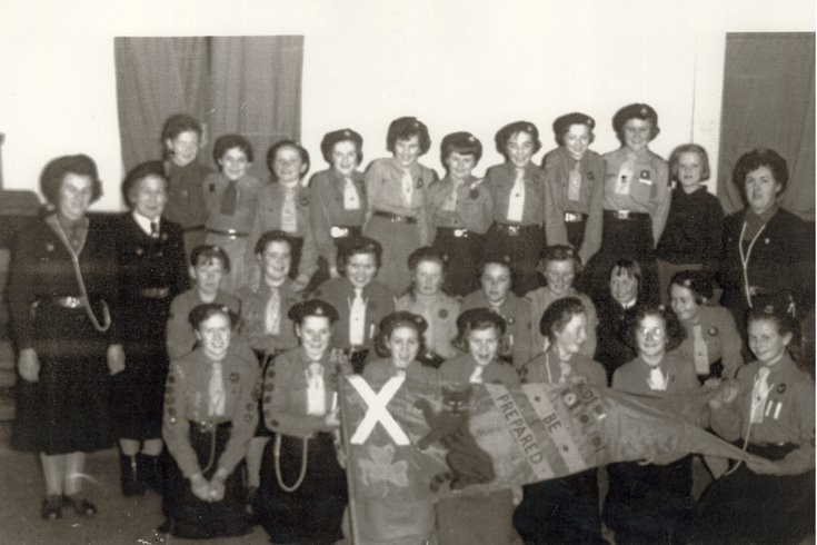 Dornoch Girl Guides Group Photograph