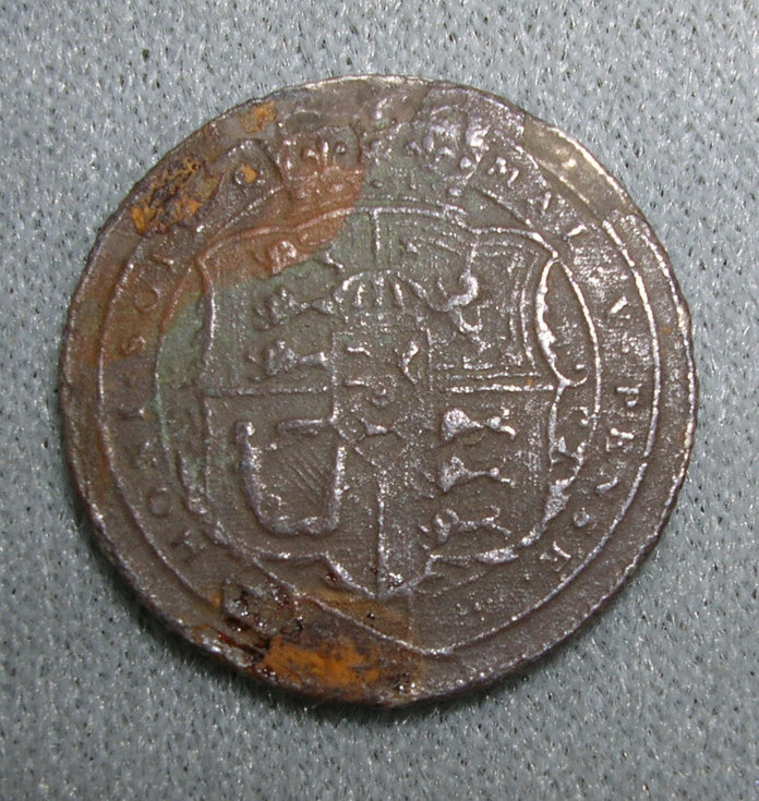 George III coin found at Meikle Ferry