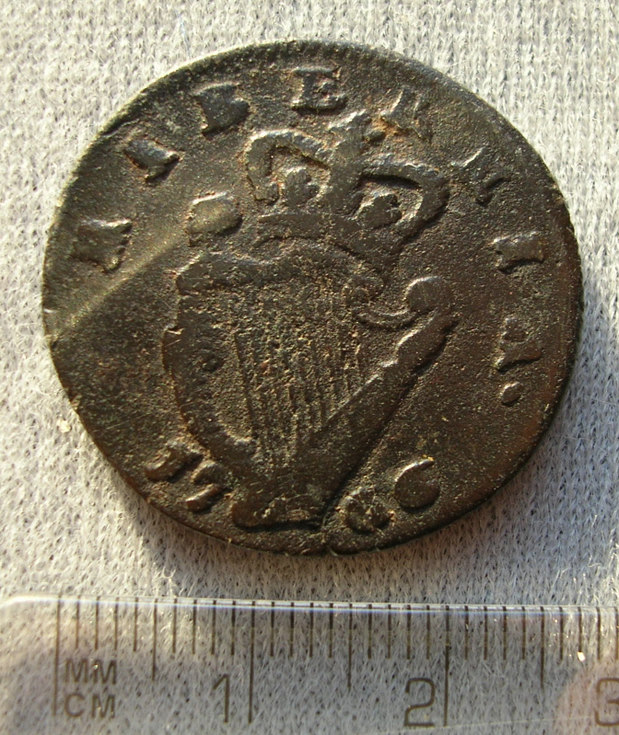 Coin found at Burghfield Hotel