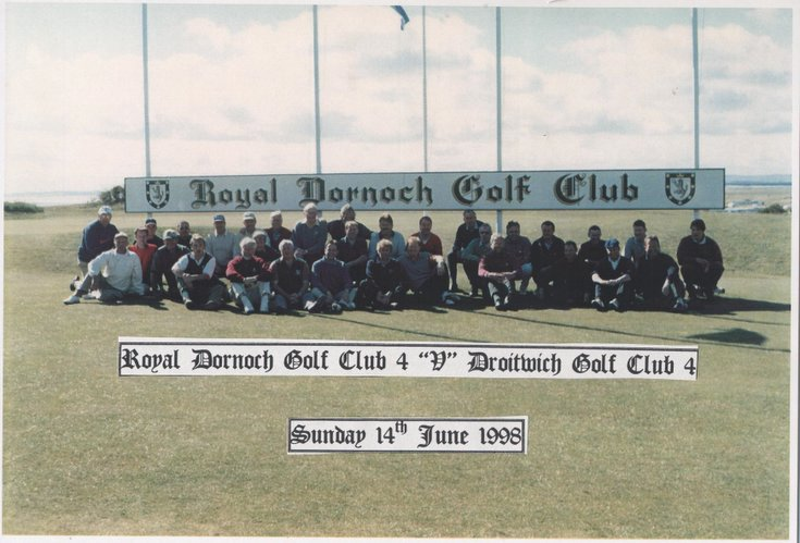 Royal Dornoch 4 v Droitwich Golf Club 4
