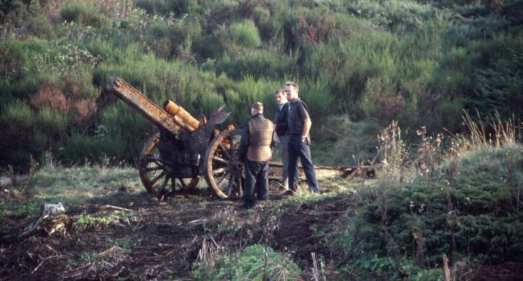 German gun in Witches Pool