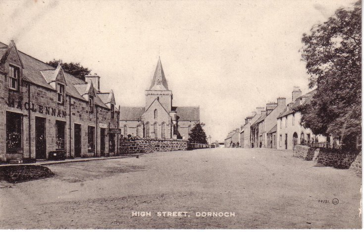High Street, Dornoch